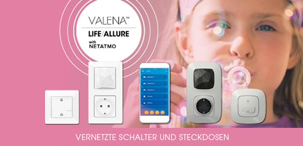 Valena with Netatmo bei Elektro Bindel in Friedrichroda
